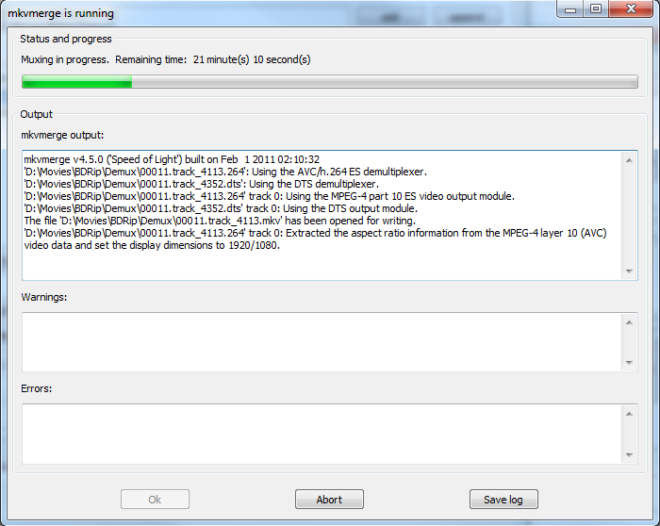 How to rip a Blu-ray disc and remux it to MKV