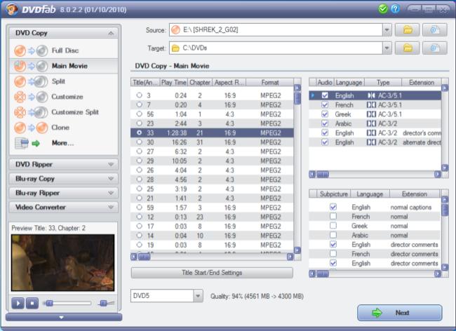 dvdfab hd decrypter francais